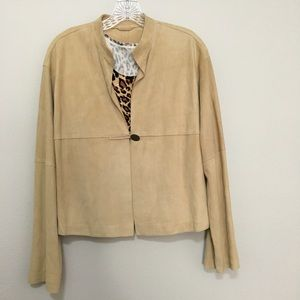 🍁 Max Mara suede jacket - like new